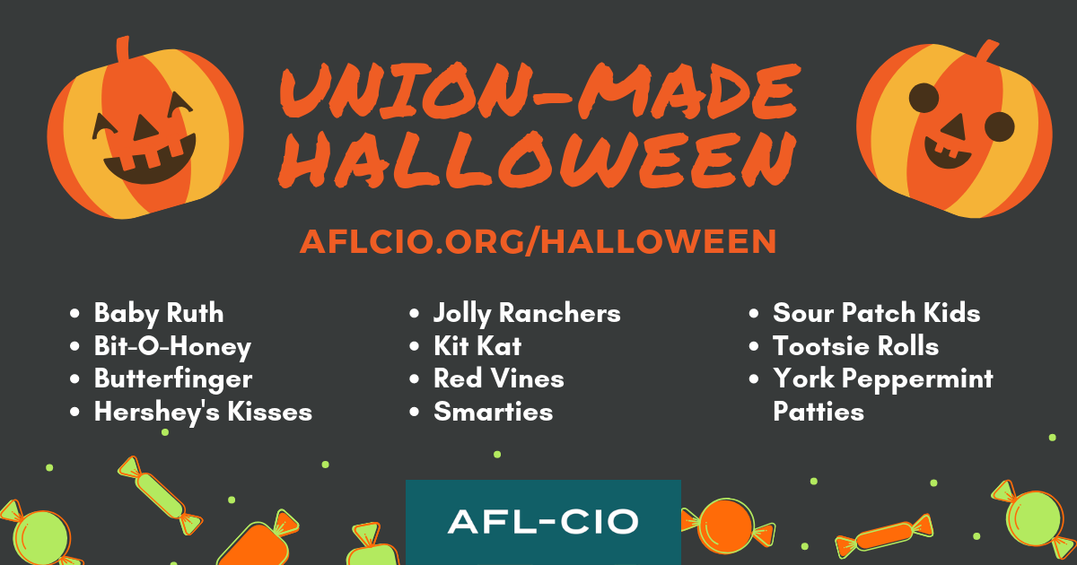UNION-MADE HALLOWEEN