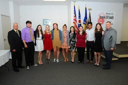 2018 R.T. Gosser Scholarship Winners